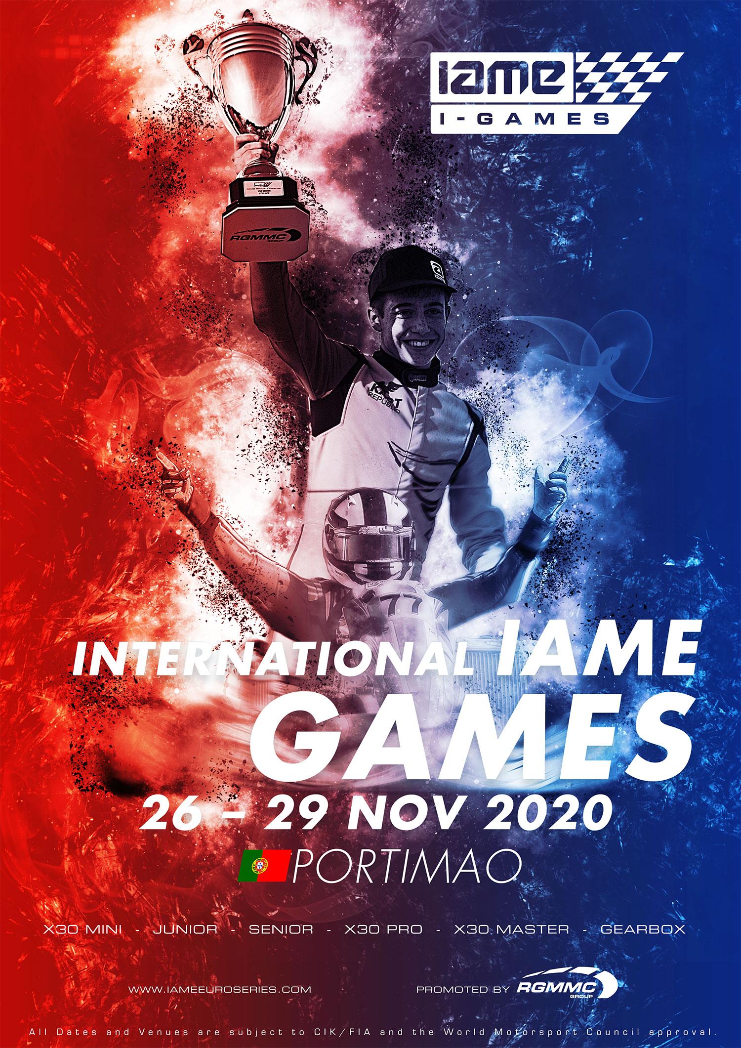 IAME I-Games poster